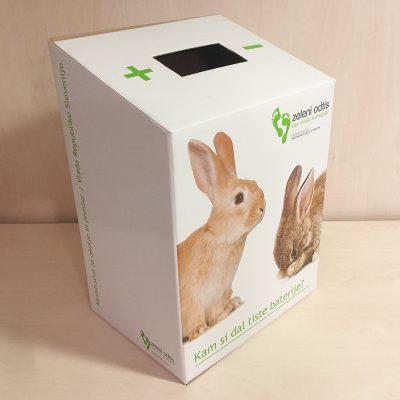 Škatla za glasovnice ali odpadne baterije